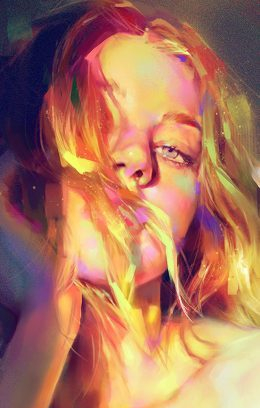 papers.co-aw53-yanjun-cheng-girl-green-sexy-illustration-art-paint-4-wallpaper-260x460
