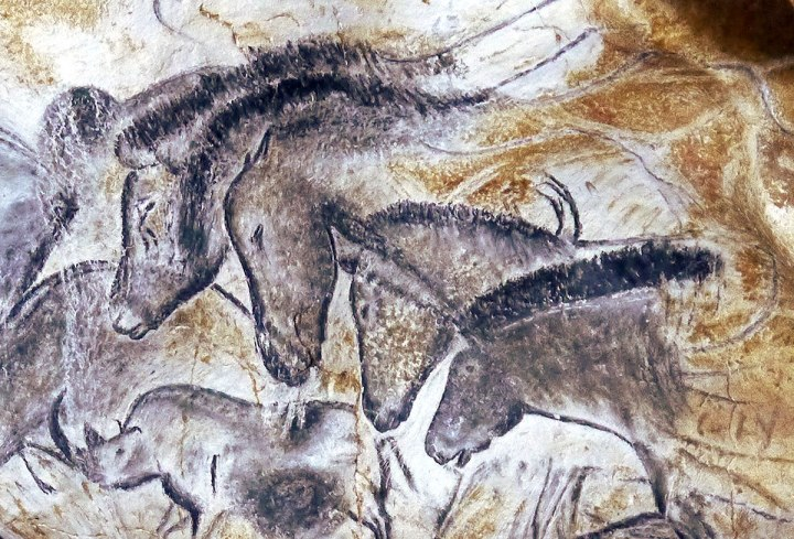 Horses and Rhinoceros- Chauvet-Pont-d'Arc Cave circa 30,000-32,000BP
